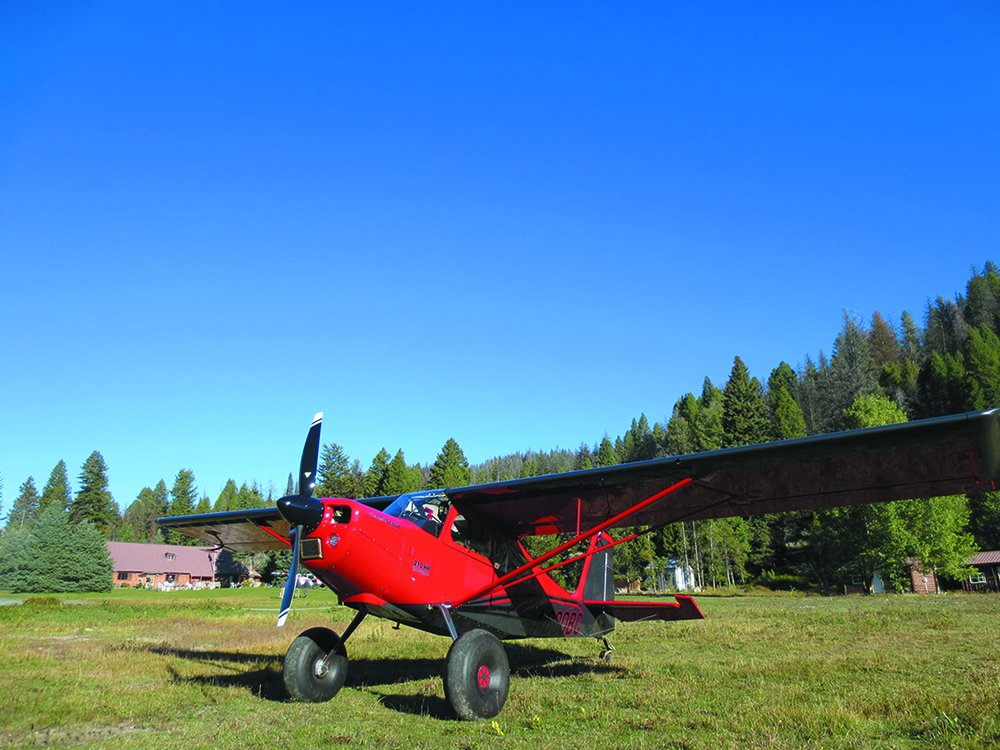 Scout Denali aircraft