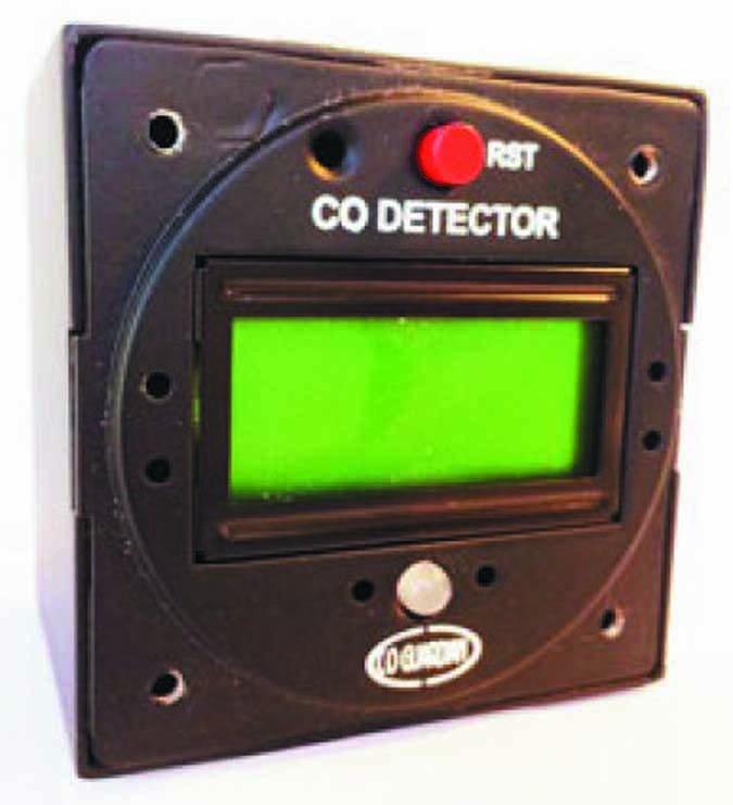 Aero 551 CO detector
