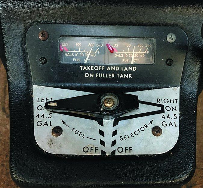 OEM analog fuel gauges