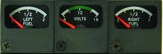 Mitchell replacement fuel gauges