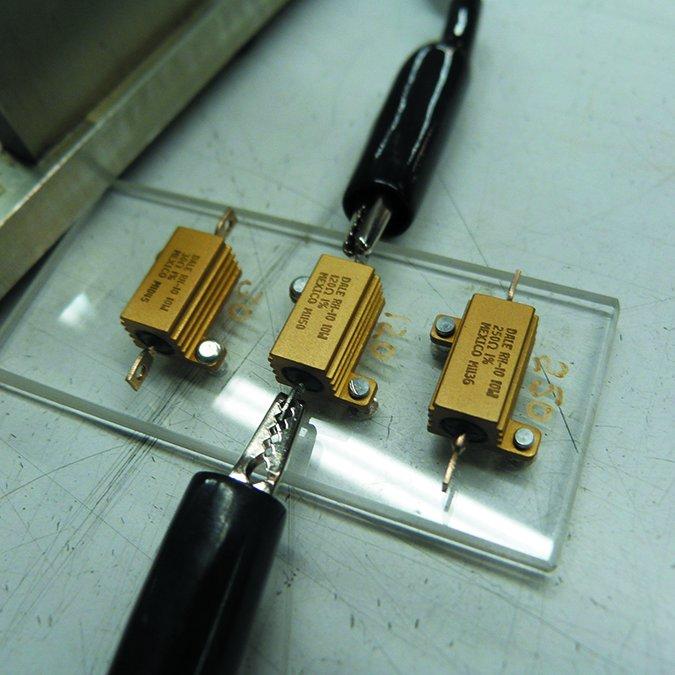 fuel gauge resistor