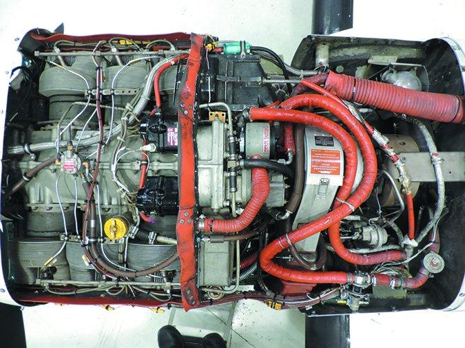 cessna 340a engine