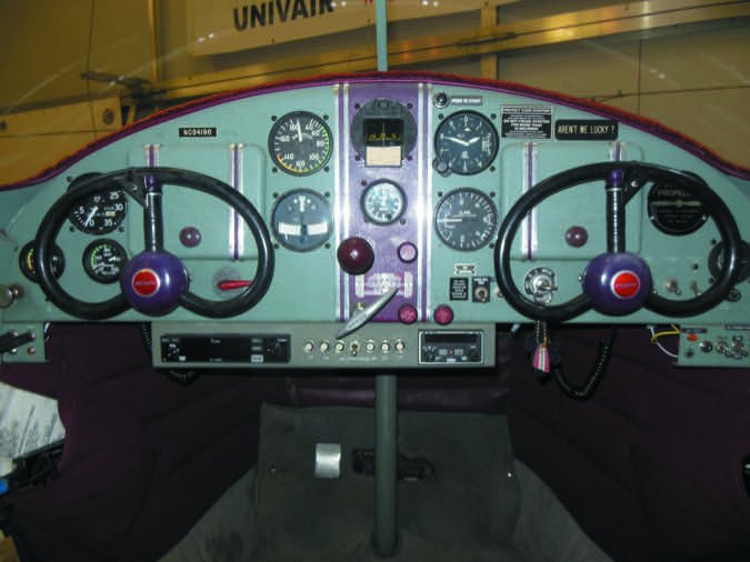 Ercoupe full panel