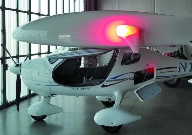 Skybeacon CT wingtip