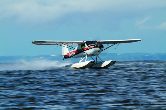 Cessna 120 floats