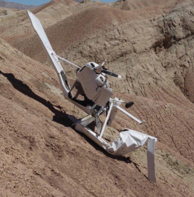 2 Skycathcher crash and California mountains