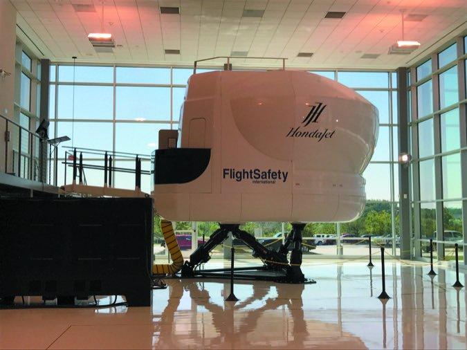 11 Honda Flight Safety sim