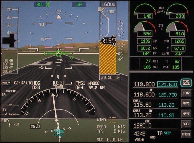 AeroVue - Primary Flight Display