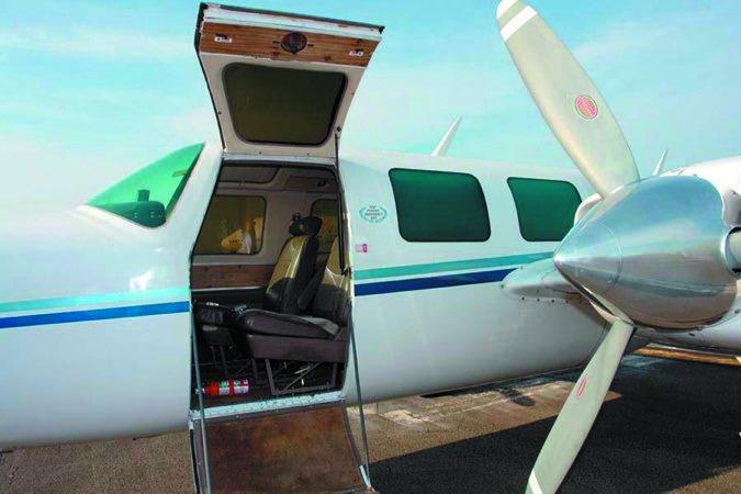 6 aerostar cabin door