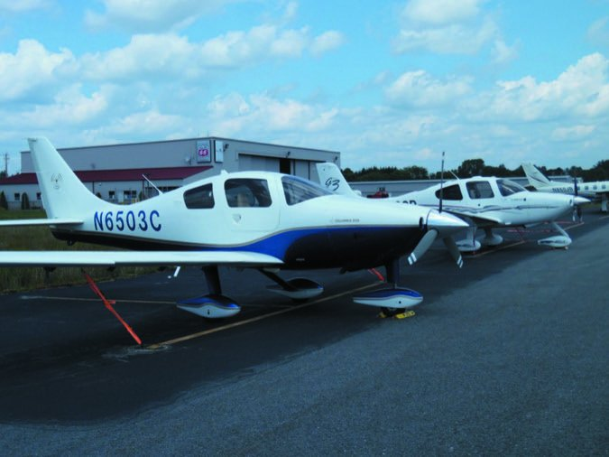 7 Columbia Cirrus ramp