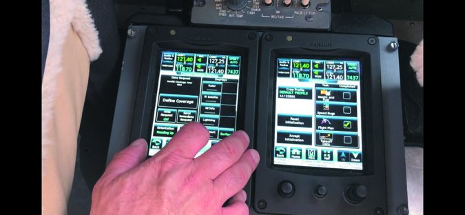 3 G5000 touchpads
