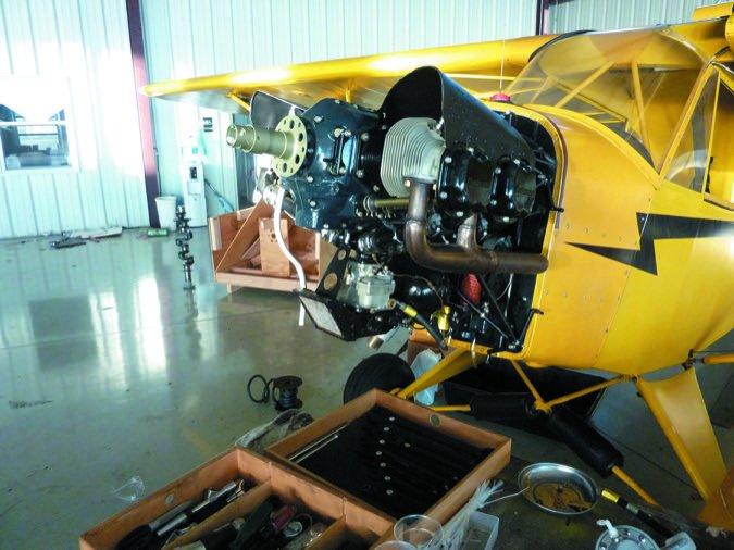 4 Cub engine cowling