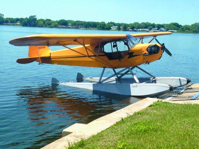 7 J3 floats water