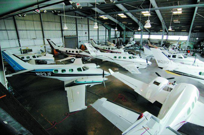 42 Duke hangar