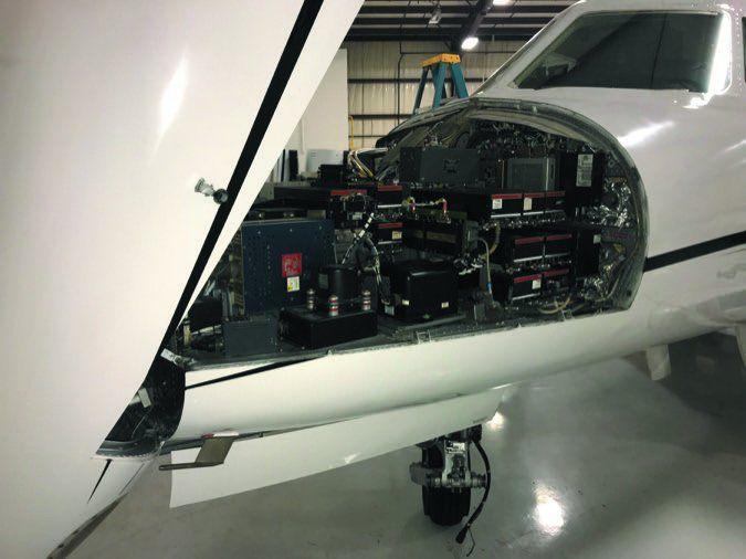 4 Falcon nose open
